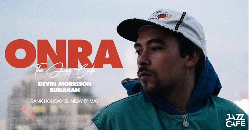 Onra at Jazz Cafe on Sun 5th May 2019 Flyer