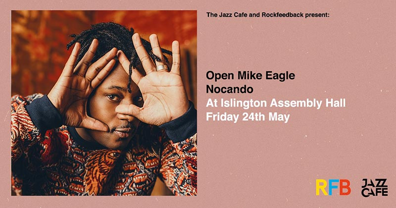 Open Mike Eagle at Islington Assembly Hall on Friday 24th May 2019 Flyer