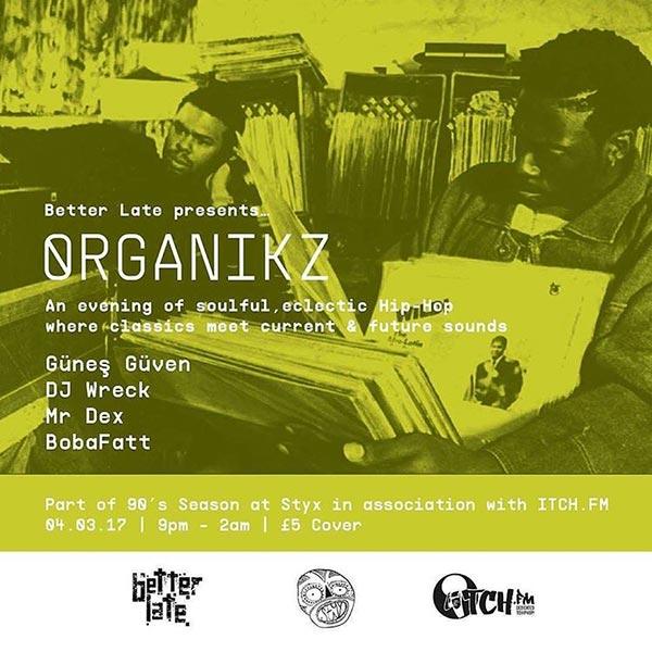 Organikz at Brixton Academy on Saturday 4th March 2017 Flyer