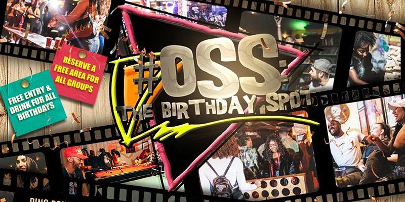 OSS: The Birthday Spot - Bank Holiday Special at SiNK on Sun 26th May 2019 Flyer