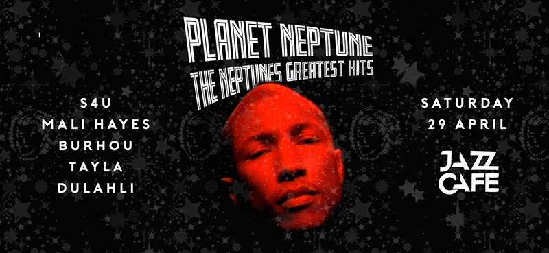 Planet Neptune at Jazz Cafe on Sat 29th April 2017 Flyer