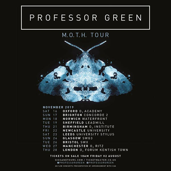 Professor Green at The Forum on Thu 28th November 2019 Flyer