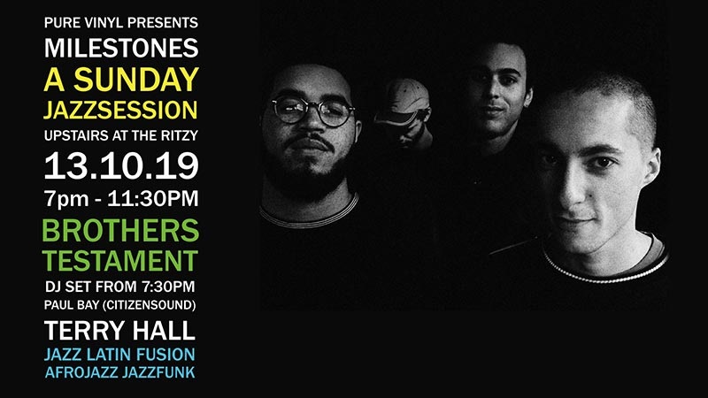 Milestones at The Ritzy on Sun 13th October 2019 Flyer