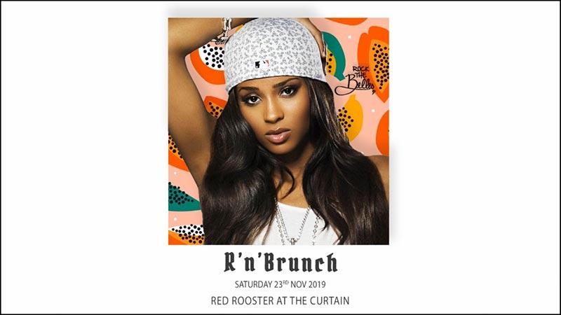 R'n'Brunch at The Curtain on Sat 23rd November 2019 Flyer