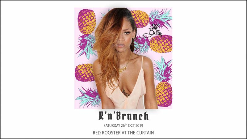 R'n'Brunch at The Curtain on Sat 26th October 2019 Flyer