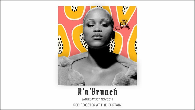 R'n'Brunch at The Curtain on Sat 30th November 2019 Flyer