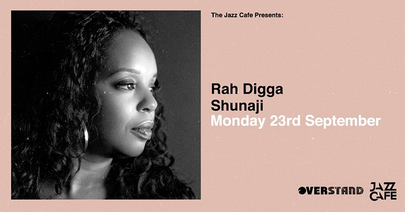 Rah Digga at Jazz Cafe on Mon 23rd September 2019 Flyer