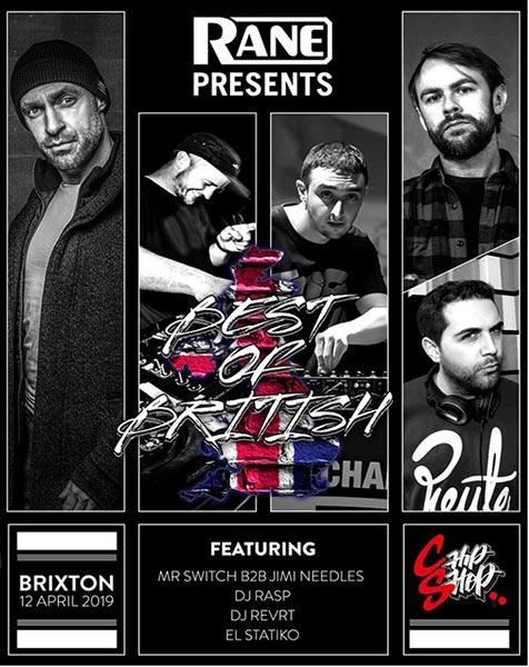 Best of British at Chip Shop BXTN on Fri 12th April 2019 Flyer