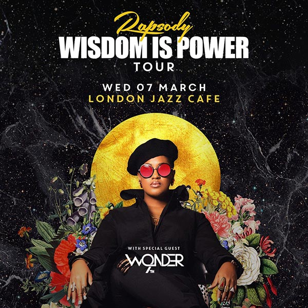 Rapsody at Jazz Cafe on Wednesday 7th March 2018 Flyer