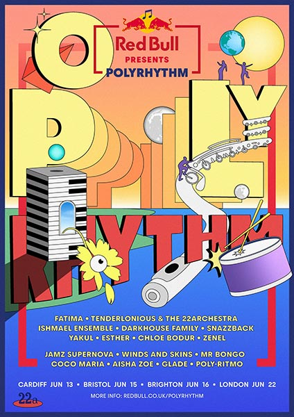 Polyrhythm at Flat Iron Square on Sat 22nd June 2019 Flyer