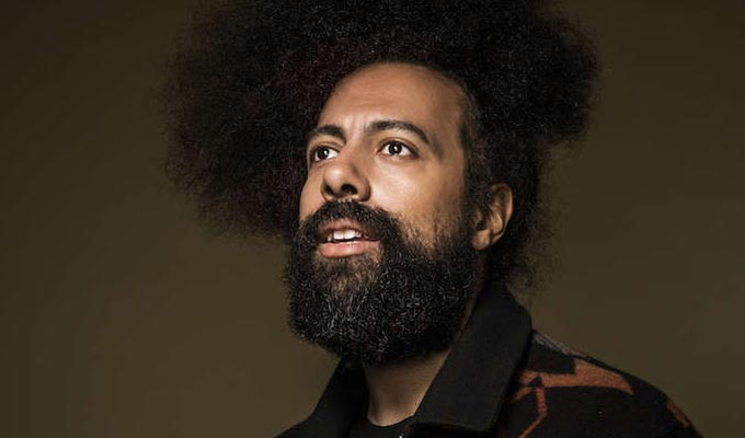 Reggie Watts at EartH on Sat 15th June 2019 Flyer