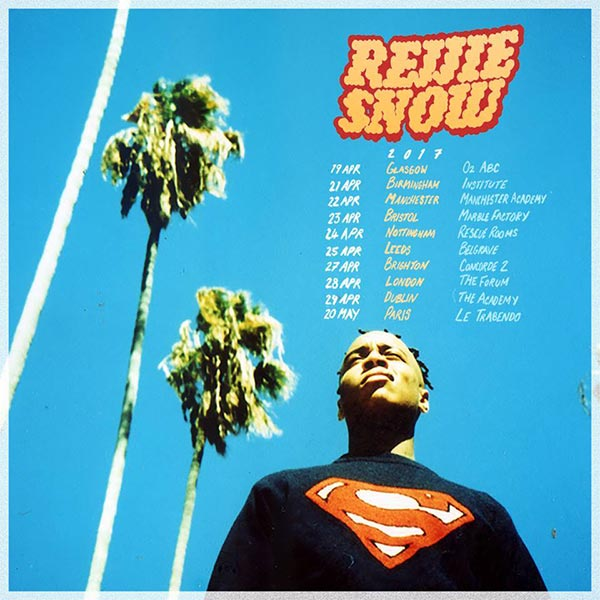 Rejjie Snow at The Forum on Friday 28th April 2017 Flyer