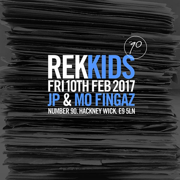 RekKIDS at Islington Assembly Hall on Friday 10th February 2017 Flyer