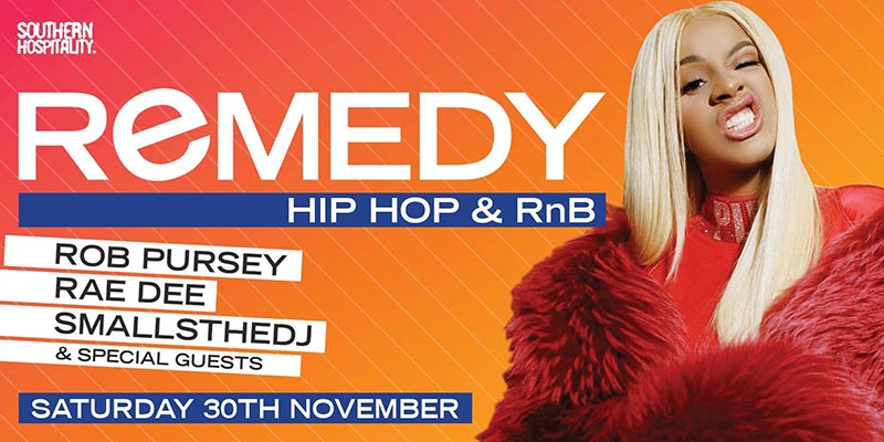 Remedy at Concrete on Sat 30th November 2019 Flyer