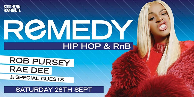 Remedy at Concrete on Sat 28th September 2019 Flyer