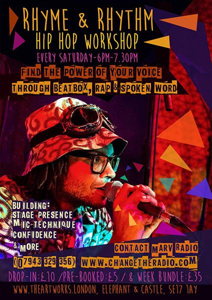 Rhyme & Rhythm at Trapeze on Saturday 6th August 2016 Flyer