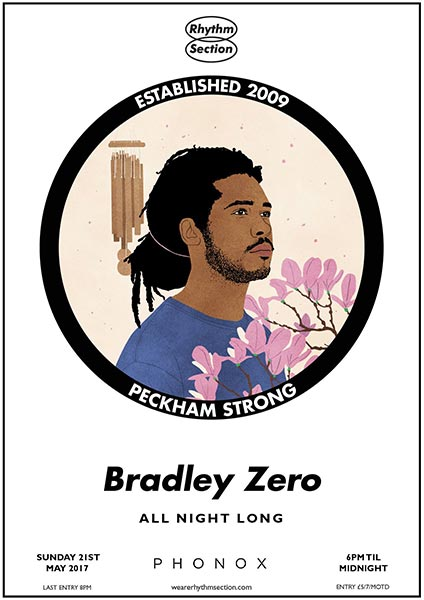 Bradley Zero at The Forum on Sunday 21st May 2017 Flyer