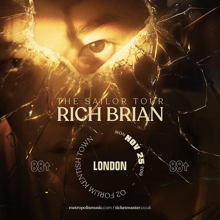 Rich Brian at The Forum on Monday 25th November 2019 Flyer