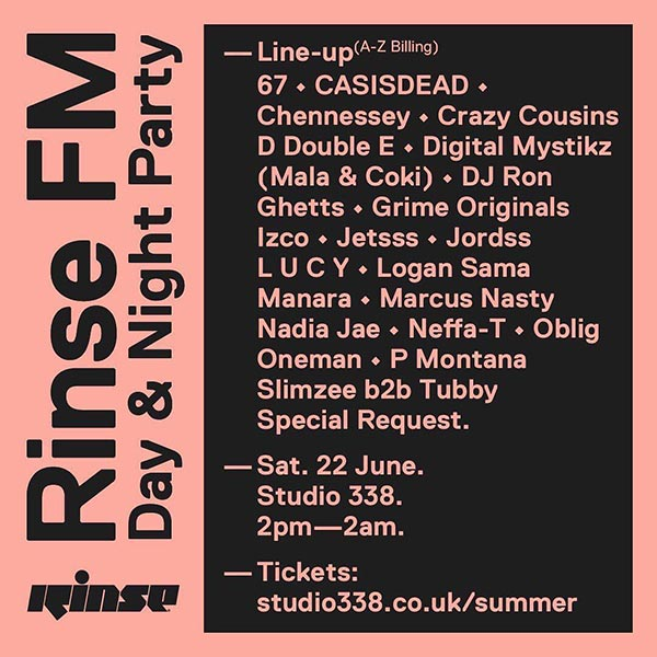 Summer Day & Night Party at Studio 338 on Saturday 22nd June 2019 Flyer