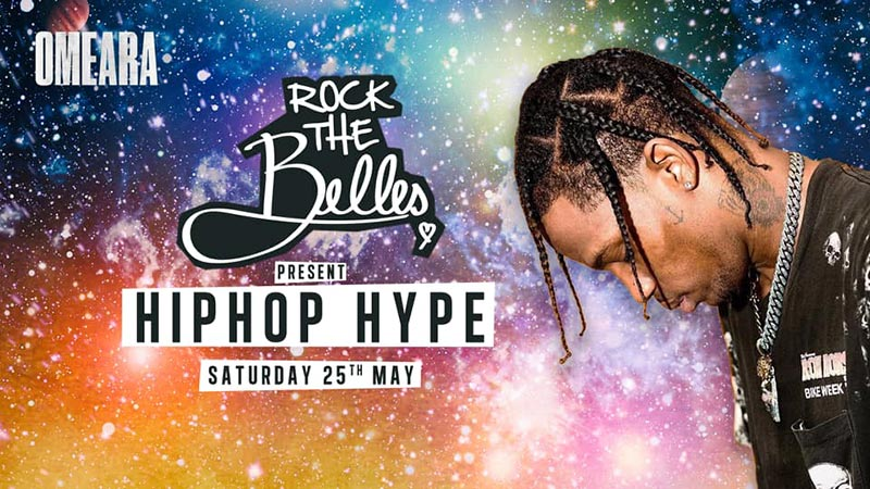 Rock The Belles x HipHop Hype x Omeara at Omeara on Sat 25th May 2019 Flyer