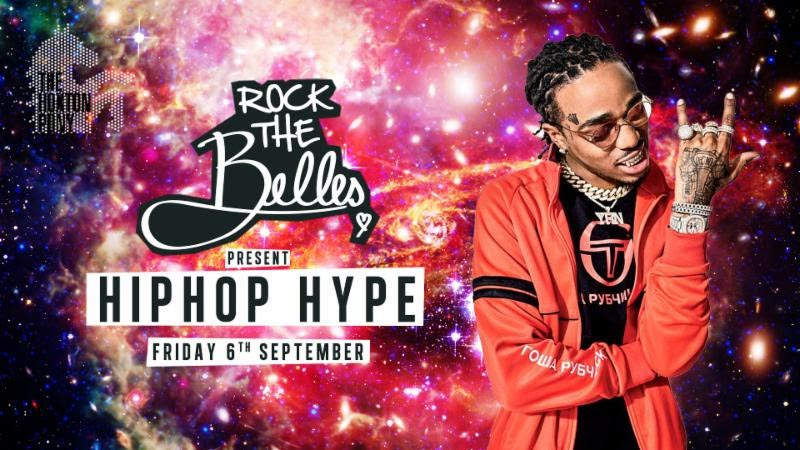 Rock The Belles x Hiphop Hype at The Hoxton Pony on Fri 6th September 2019 Flyer