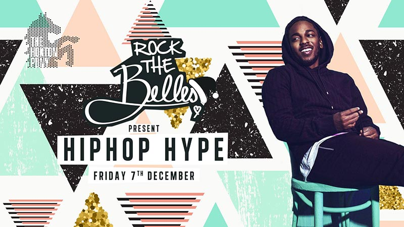 Rock The Belles x Hiphop Hype Hoxton at The Hoxton Pony on Fri 7th December 2018 Flyer