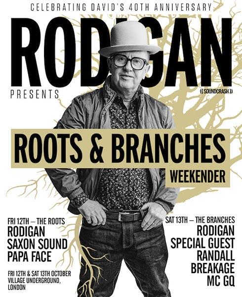 David Rodigan at Village Underground on Fri 12th October 2018 Flyer