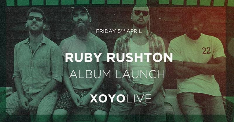 Ruby Rushton at XOYO on Fri 5th April 2019 Flyer