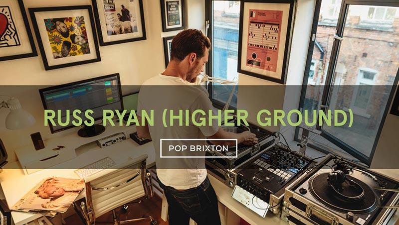 Russ Ryan at Pop Brixton on Sat 10th November 2018 Flyer