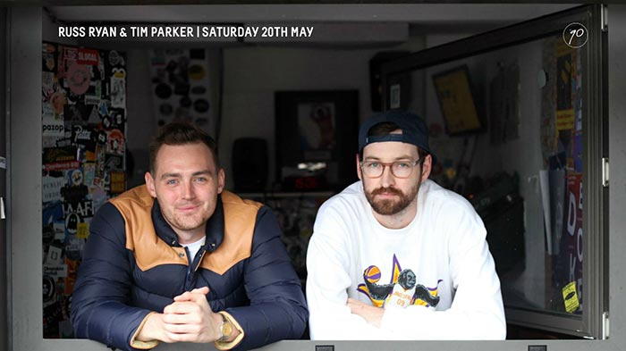 Russ Ryan & Tim Parker at Number 90 on Sat 20th May 2017 Flyer