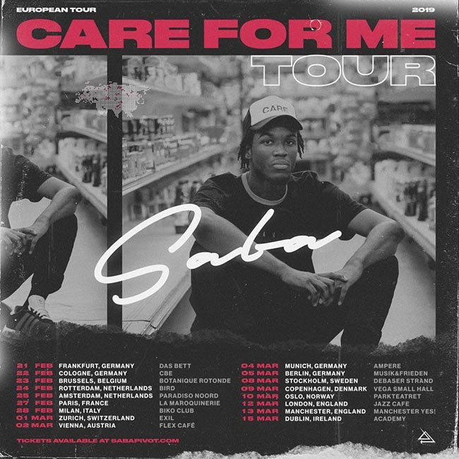 Saba at Jazz Cafe on Tue 12th March 2019 Flyer