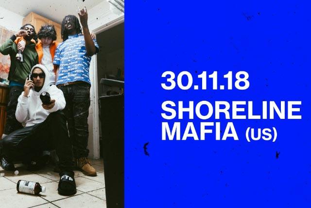 Shoreline Mafia at Scala on Fri 30th November 2018 Flyer