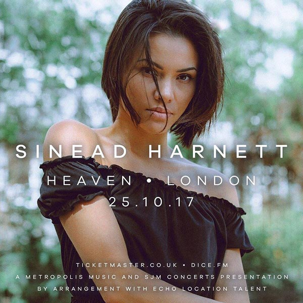Sinead Harnett at Finsbury Park on Wednesday 25th October 2017 Flyer