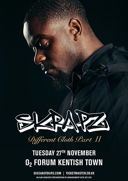 Skrapz at The Forum on Tue 27th November 2018 Flyer