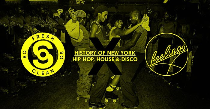 History of New York Hip Hop at Ministry of Sound on Sat 19th August 2017 Flyer