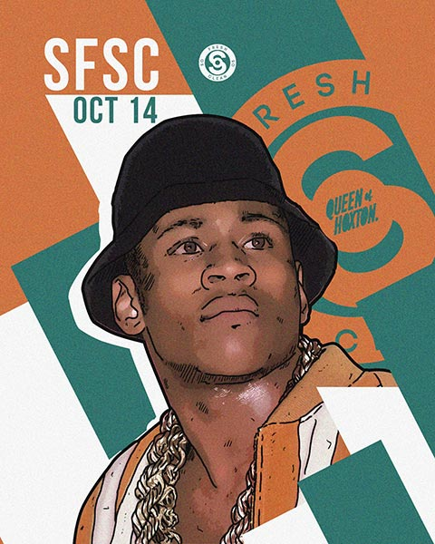 So Fresh So Clean at Queen of Hoxton on Sat 14th October 2017 Flyer