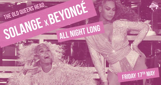 Solange x Beyonce All Night at The Old Queen