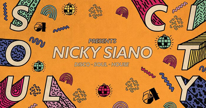 Soul City w/ Nicky Siano at Jazz Cafe on Sat 18th November 2017 Flyer