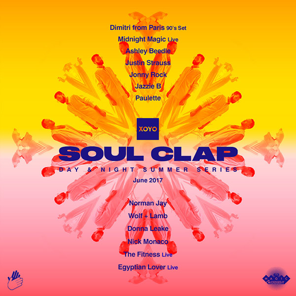 Soul Clap at The Magic Roundabout on Sat 24th June 2017 Flyer