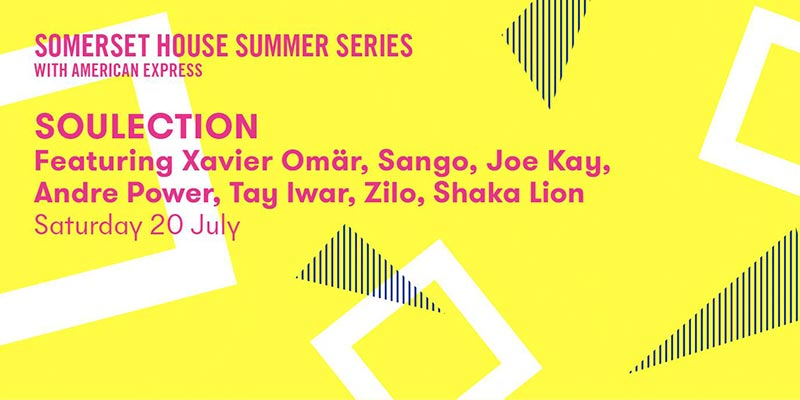 Soulection at Somerset House on Sat 20th July 2019 Flyer