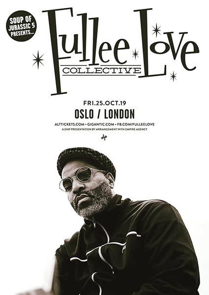 Fullee Love Collective at Oslo Hackney on Friday 25th October 2019 Flyer