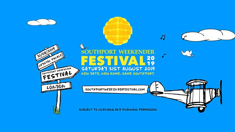 Southport Weekender Festival at TBA on Sat 31st August 2019 Flyer