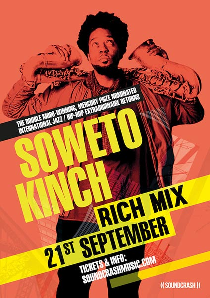 Soweto Kinch at Rich Mix on Thu 21st September 2017 Flyer