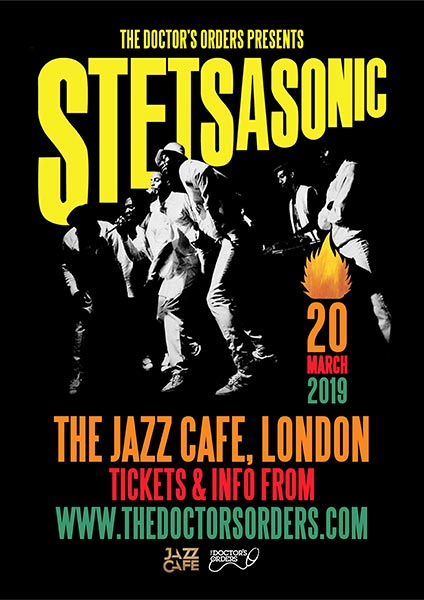 Stetsasonic at Jazz Cafe on Wed 20th March 2019 Flyer
