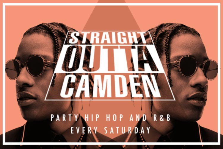Straight Outta Camden: I miss the old Kanye at Camden Assembly on Sat 19th August 2017 Flyer