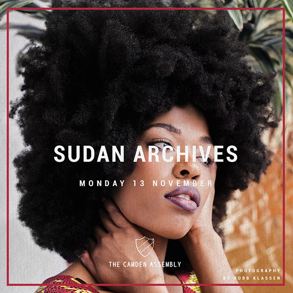 Sudan Archives at Finsbury Park on Monday 13th November 2017 Flyer