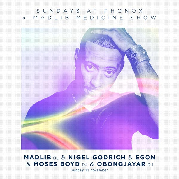 Sundays at Phonox at Phonox on Sun 11th November 2018 Flyer