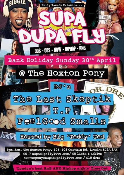 Supa Dupa Fly x Bank Holiday Sunday at The Forum on Sunday 30th April 2017 Flyer