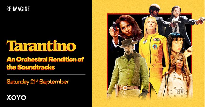 Tarantino at XOYO on Sat 21st September 2019 Flyer