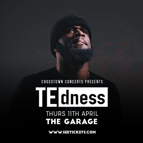 TE dness at The Garage on Thu 11th April 2019 Flyer